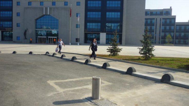 Anadolu Adalet Sarayı Bariyerleri